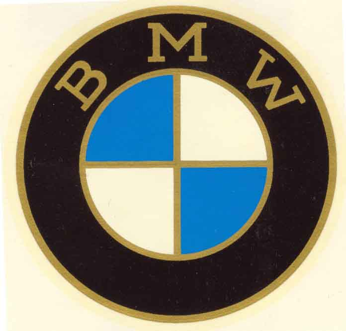 History Of BMW Motorcycle Logo Emblems Roundel Picture Badge - Bmw motorcycle stickers and decals